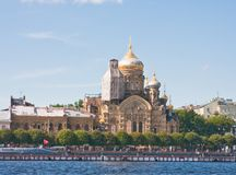 St. Petersburg. Church of  Assumption Royalty Free Stock Photos