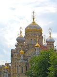 St. Petersburg. Church of the Assumption of the Blessed Virgin Royalty Free Stock Images