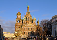St Petersburg, The Church of Our Savior Stock Photography