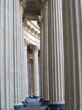 St. Petersburg. Colonnade of the Kazan cathedral Stock Images