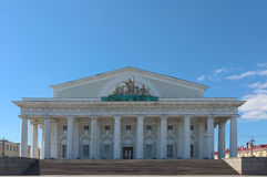 St. Petersburg Colonnade Stock Photography