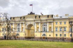 St Petersburg A construção do Senado e do sínodo Fotos de Stock