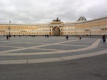 St Petersburg. Cuadrado del palacio Imagenes de archivo