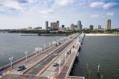 St Petersburg dal pilastro, Florida Immagini Stock Libere da Diritti