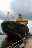 St Petersburg der Eisbrecher Stockbild
