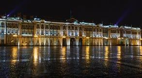 St. Petersburg, der Winter-Palast Stockbild