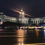St Petersburg domkyrka royaltyfria foton
