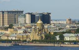St Petersburg domkyrka av antagandet av St Mary Royaltyfria Foton