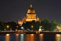 St Petersburg domkyrka för St. Isaacs Arkivfoto