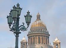 St. - Petersburg. Een kathedraal Isaakievsky. Stock Afbeelding