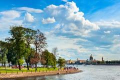 St Petersburg en verano imágenes de archivo libres de regalías