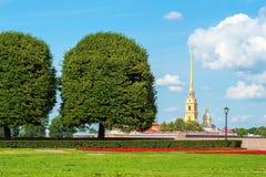 St Petersburg en verano fotografía de archivo