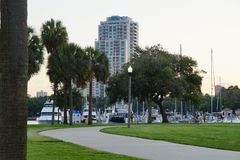 St Petersburg, FL  Royalty Free Stock Photography
