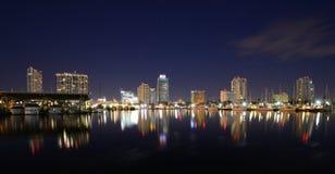 St. Petersburg, Florida. Skyline of St. Petersburg, Florida Stock Images