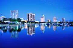 St. Petersburg, Florida. Skyline of St. Petersburg, Florida Royalty Free Stock Photo