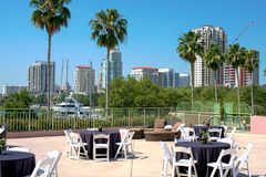 St Petersburg Florida hotell Royaltyfria Foton