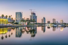 St Petersburg Florida, USA arkivbilder