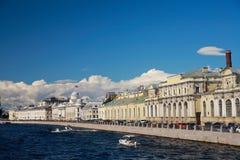 St. Petersburg, Fontanka Embankment Royalty Free Stock Image
