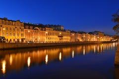 St. Petersburg, Fontanka river Stock Photo