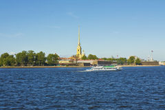 St. Petersburg, fortress of St. Peter and Paul Royalty Free Stock Photos
