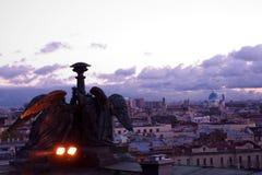 St Petersburg från helgonIsaacs domkyrka Arkivfoton
