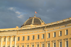 St. Petersburg. The fragment of the General Staff Building  Royalty Free Stock Photography