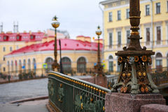St. Petersburg, fragments of architecture Stock Image