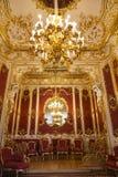 St Petersburg Gabinete de señora interior de la emperatriz Maria Alexandrovna, la esposa del emperador ruso Alejandro II Foto de archivo libre de regalías