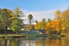 St. Petersburg.  Gatchina park Royalty Free Stock Images