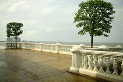 St Petersburg. Golfo de Finlandia Foto de Stock Royalty Free
