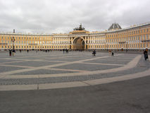 St Petersburg. Grand dos de palais images stock