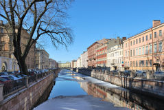 St. Petersburg. Griboyedov Canal Stock Photo