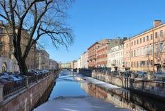 St Petersburg. Griboyedov Kanal Stockfoto