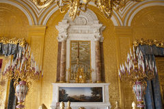 St. Petersburg Hermitage gold room Royalty Free Stock Photography