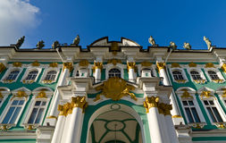 St. Petersburg, The Hermitage Museum   Stock Photography