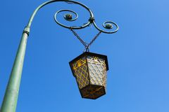 St.Petersburg historical street lantern Royalty Free Stock Photos