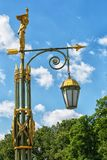 St.Petersburg historical street lantern Royalty Free Stock Photo