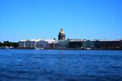 St Petersburg i Neva Obrazy Royalty Free