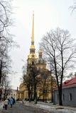 St Petersburg, ilha de Zayachiy Foto de Stock Royalty Free