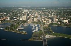 St Petersburg im Stadtzentrum gelegen - Florida lizenzfreie stockfotografie