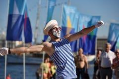 St. Petersburg international marine festival 2015 Royalty Free Stock Photography