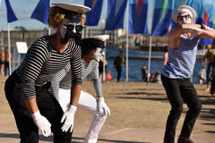 St. Petersburg international marine festival 2015 Royalty Free Stock Images