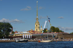 St. Petersburg international marine festival 2015 Stock Images