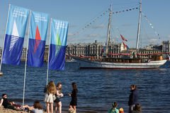 St. Petersburg international marine festival 2015 Royalty Free Stock Photos