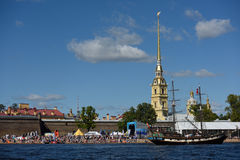 St. Petersburg international marine festival 2015 Royalty Free Stock Image