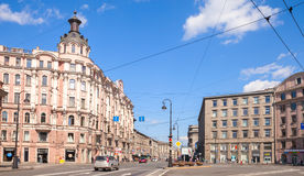 St Petersburg, Kammennoostrovsky Prospekt Image libre de droits