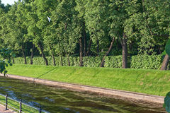 St. Petersburg kanały Obrazy Royalty Free