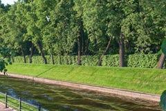 St. Petersburg kanalen Royalty-vrije Stock Afbeeldingen
