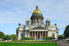 St Petersburg, Kathedrale Str.-Isaac Stockbilder