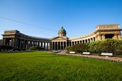 St.Petersburg, Kazan Cathedral. Royalty Free Stock Photo